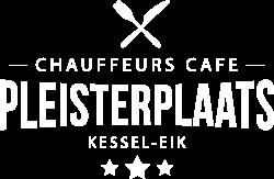 Logo van De Pleisterplaats aan de Napoleonsbaan in Kessel wit